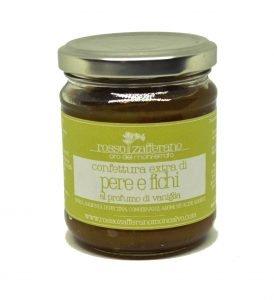 Confettura extra di pere, fichi e vaniglia – 190 g