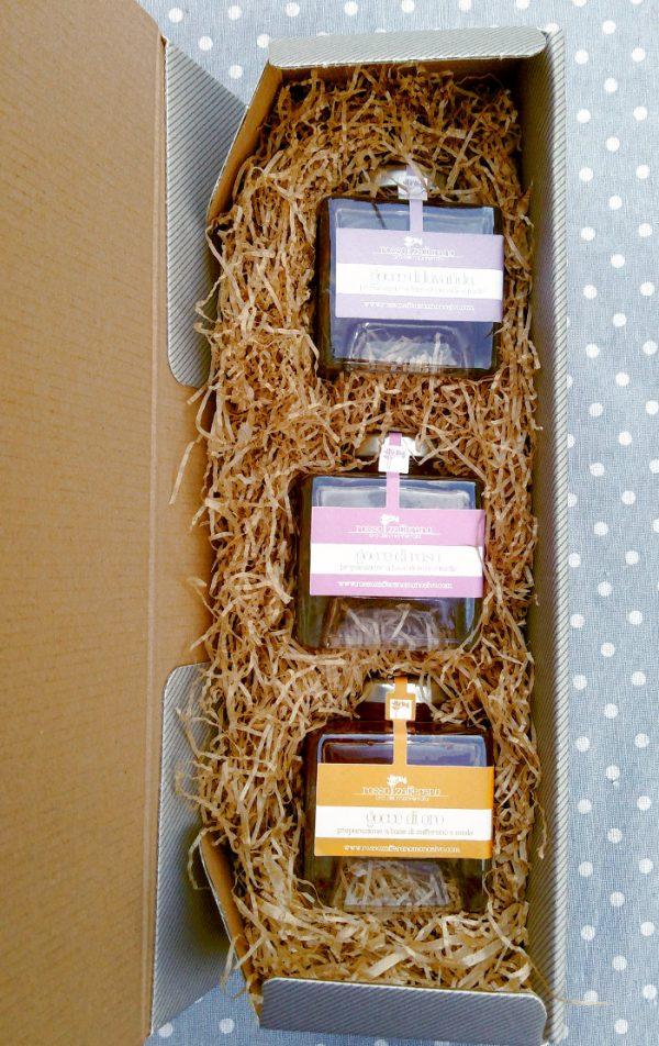 confezione miele aromatizzato