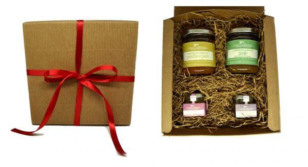 confezione regalo confetture mieli aromatici