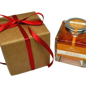 confezione regalo miele allo zafferano 120 g