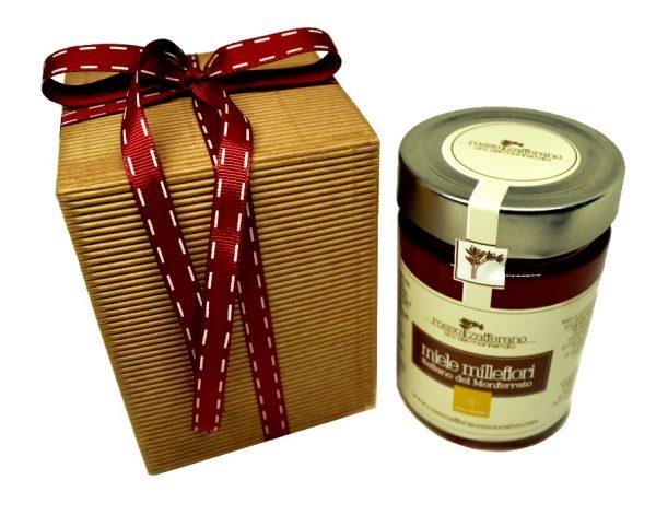 confezione regalo miele millefiori