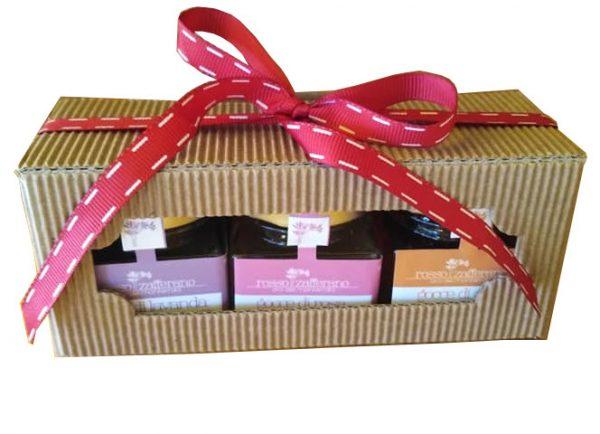 confezione regalo mieli aromatizzati