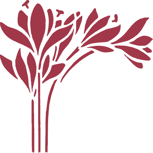 icona rossozafferano sfondo bianco