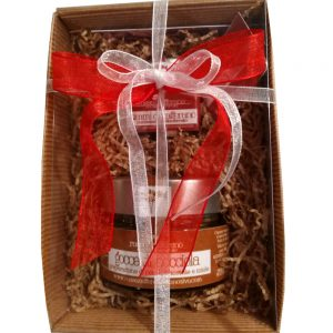 confezione regalo zafferano e gocce di nocciola